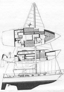 gulfstar-37-line-drawing